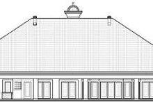 Dream House Plan - European Exterior - Rear Elevation Plan #23-789