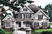 House Plan Design - Rendering Front