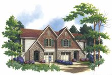 Dream House Plan - Country Exterior - Front Elevation Plan #48-823
