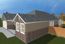 Ranch Exterior - Other Elevation Plan #1060-22