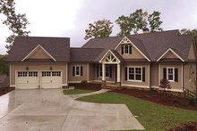 Dream House Plan - Ranch Exterior - Front Elevation Plan #437-71