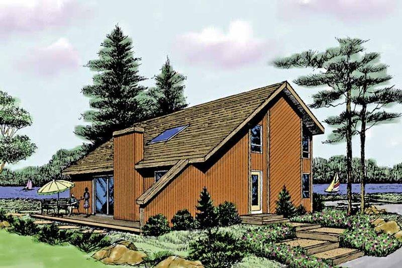 Contemporary Exterior - Front Elevation Plan #314-260 - Houseplans.com
