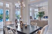 Mediterranean Style House Plan - 4 Beds 4.5 Baths 4030 Sq/Ft Plan #930-473 Interior - Dining Room