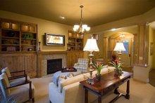 Dream House Plan - Craftsman Interior - Family Room Plan #56-597