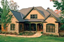 House Design - Country Exterior - Front Elevation Plan #927-295