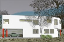 Modern Exterior - Other Elevation Plan #450-6