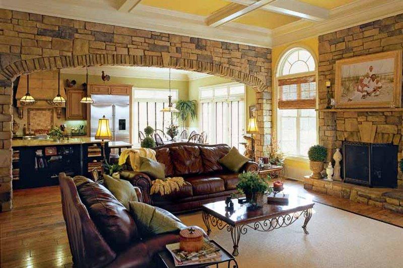 Colonial Interior - Family Room Plan #927-923 - Houseplans.com