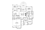 Traditional Style House Plan - 3 Beds 2 Baths 2149 Sq/Ft Plan #929-925 Floor Plan - Main Floor