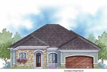 Country Exterior - Front Elevation Plan #938-56