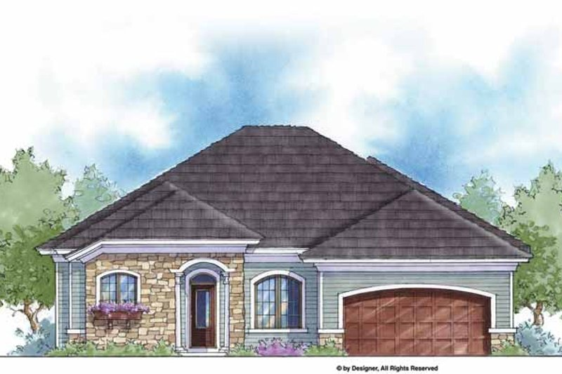 House Plan Design - Country Exterior - Front Elevation Plan #938-56