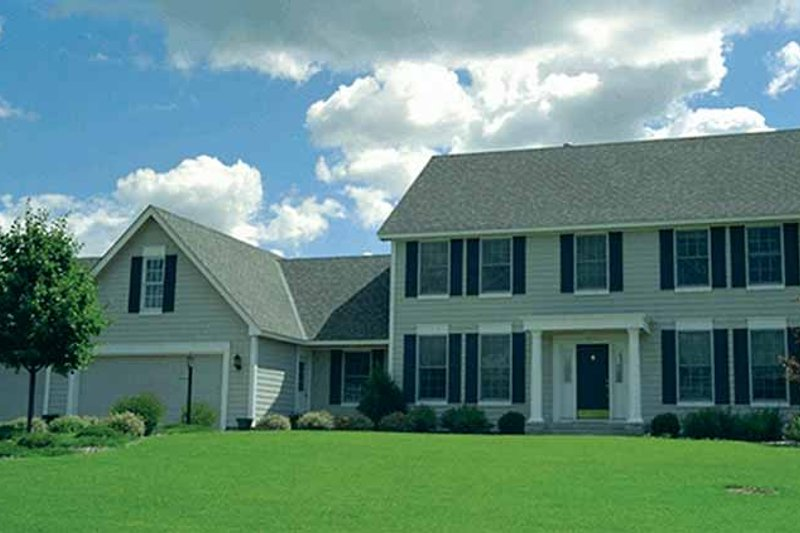 Dream House Plan - Classical Exterior - Front Elevation Plan #51-838