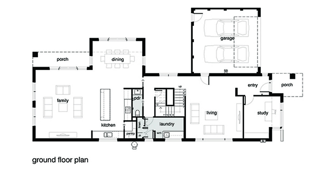 Modern Style House Plan - 4 Beds 2.5 Baths 3584 Sq/Ft Plan ... on home builders floor plans, home design floor plans, i house architecture, roof plans, i house home, split level home floor plans, blueprints for houses with open floor plans, mansion plans,