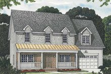 Traditional Exterior - Front Elevation Plan #453-553