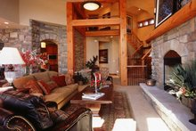 Craftsman Interior - Family Room Plan #942-16