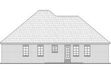 House Plan Design - Traditional Exterior - Rear Elevation Plan #21-215
