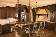 House Plan Design - European Interior - Kitchen Plan #453-593
