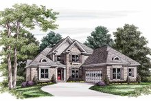 Traditional Exterior - Front Elevation Plan #927-583