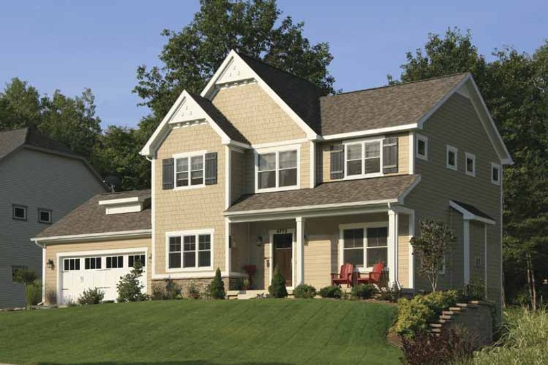 Country Exterior - Front Elevation Plan #928-157 - Houseplans.com