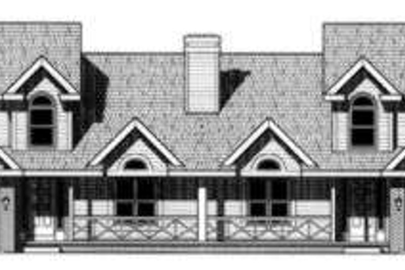 Traditional Exterior - Front Elevation Plan #20-1562 - Houseplans.com