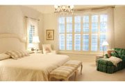 European Style House Plan - 4 Beds 5.5 Baths 5157 Sq/Ft Plan #928-65 Interior - Master Bedroom