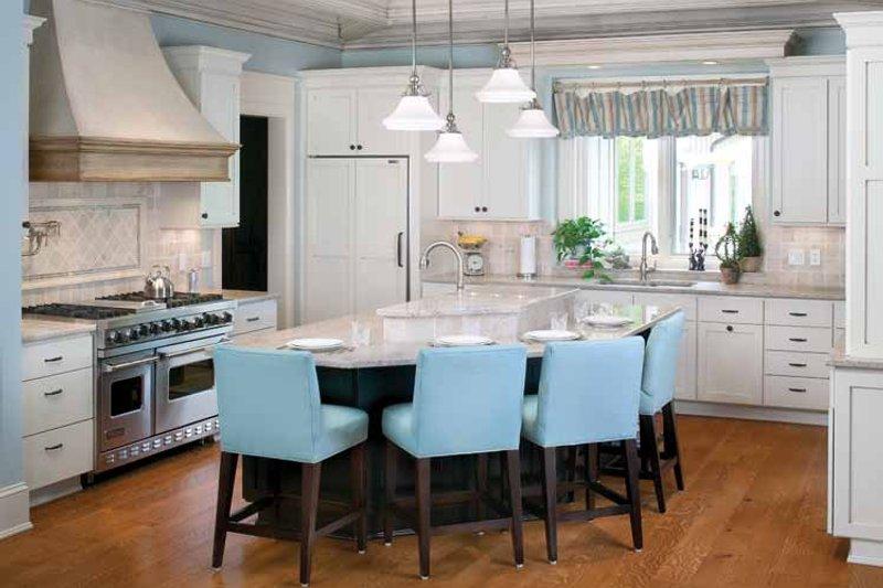 European Interior - Kitchen Plan #928-16 - Houseplans.com