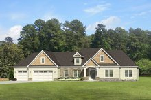 Architectural House Design - Ranch Exterior - Front Elevation Plan #1010-85