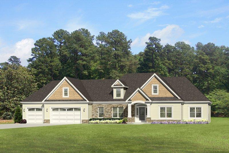 House Plan Design - Ranch Exterior - Front Elevation Plan #1010-85
