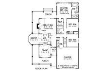 Country Floor Plan - Main Floor Plan Plan #929-43