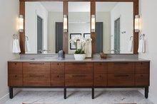 House Plan Design - Contemporary Interior - Master Bathroom Plan #928-291