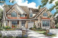 Architectural House Design - Traditional Exterior - Front Elevation Plan #929-771