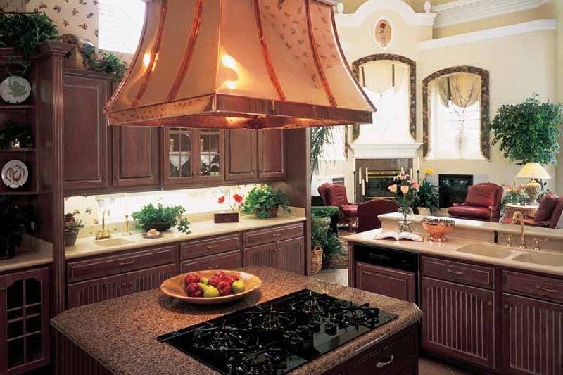European Interior - Kitchen Plan #417-563 - Houseplans.com