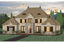 Home Plan - Country Exterior - Front Elevation Plan #937-32