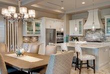 Dream House Plan - Mediterranean Interior - Dining Room Plan #930-449