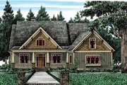 Bungalow Style House Plan - 4 Beds 3 Baths 2336 Sq/Ft Plan #927-418 Exterior - Front Elevation
