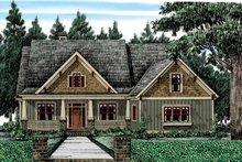 Bungalow Exterior - Front Elevation Plan #927-418