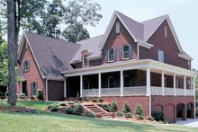 Colonial Exterior - Front Elevation Plan #453-246