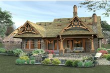House Plan Design - Small Craftsman Home with 3 bedrooms and 2 bathrooms