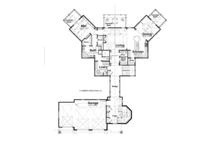 Craftsman Floor Plan - Main Floor Plan Plan #928-259