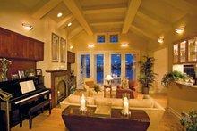 Craftsman Interior - Family Room Plan #930-356