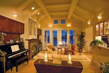 Craftsman Interior - Family Room Plan #930-356
