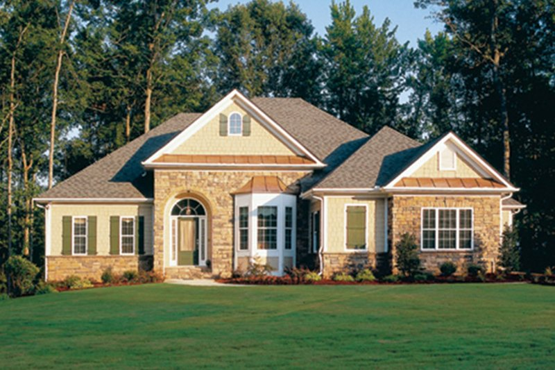 Country Exterior - Front Elevation Plan #927-781 - Houseplans.com