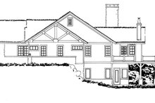 Architectural House Design - Ranch Exterior - Other Elevation Plan #942-35