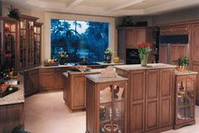 Home Plan - Mediterranean Interior - Kitchen Plan #930-256