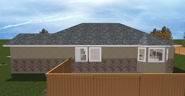 Ranch Floor Plan - Other Floor Plan Plan #1060-22