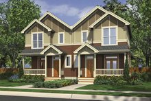Traditional Exterior - Front Elevation Plan #48-880