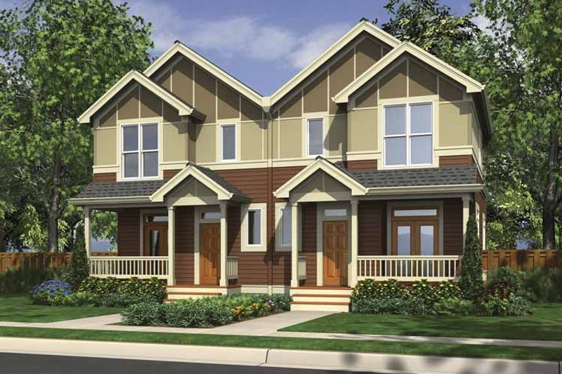 Dream House Plan - Traditional Exterior - Front Elevation Plan #48-880