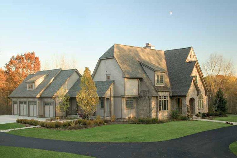 House Plan Design - European Exterior - Front Elevation Plan #928-16