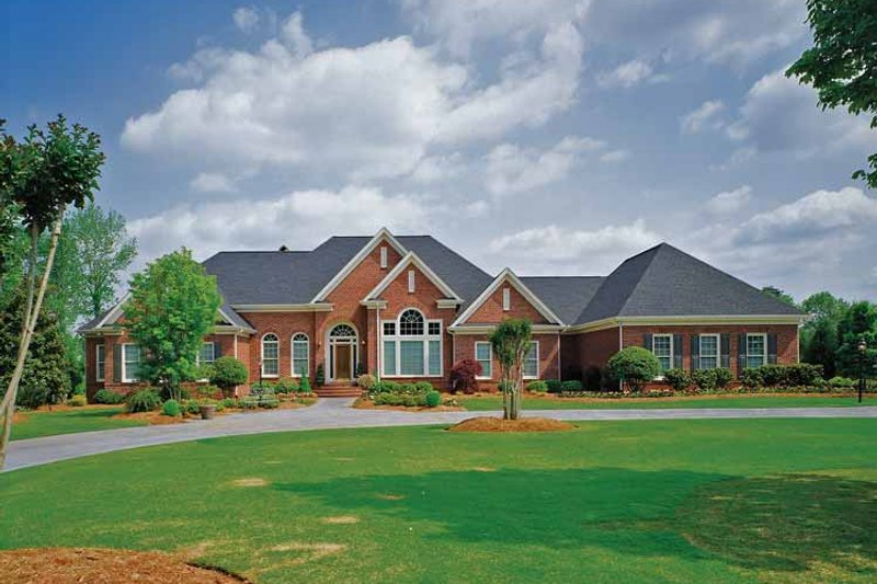 Dream House Plan - Ranch Exterior - Front Elevation Plan #929-296