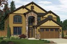 Home Plan - Traditional Exterior - Front Elevation Plan #943-12