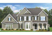 Colonial Exterior - Front Elevation Plan #1010-61
